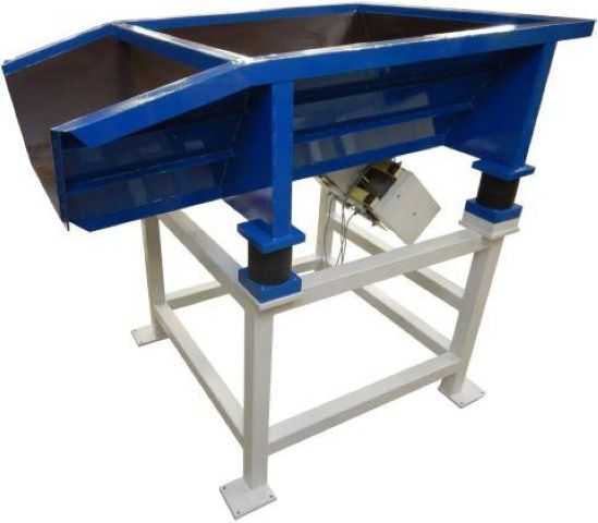 Storage hopper Typ BVB-600 with low-frequency feeder technology